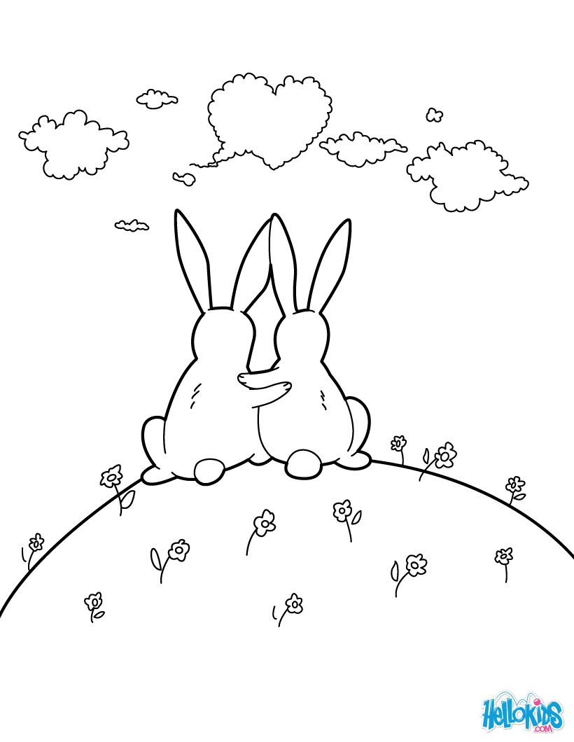 820x1060 Best Friend Coloring Page