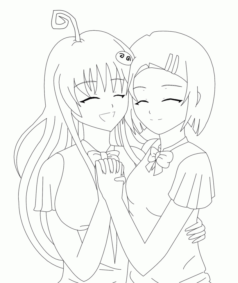 819x975 Perfect Best Friends Forever Coloring Pages Image Collection