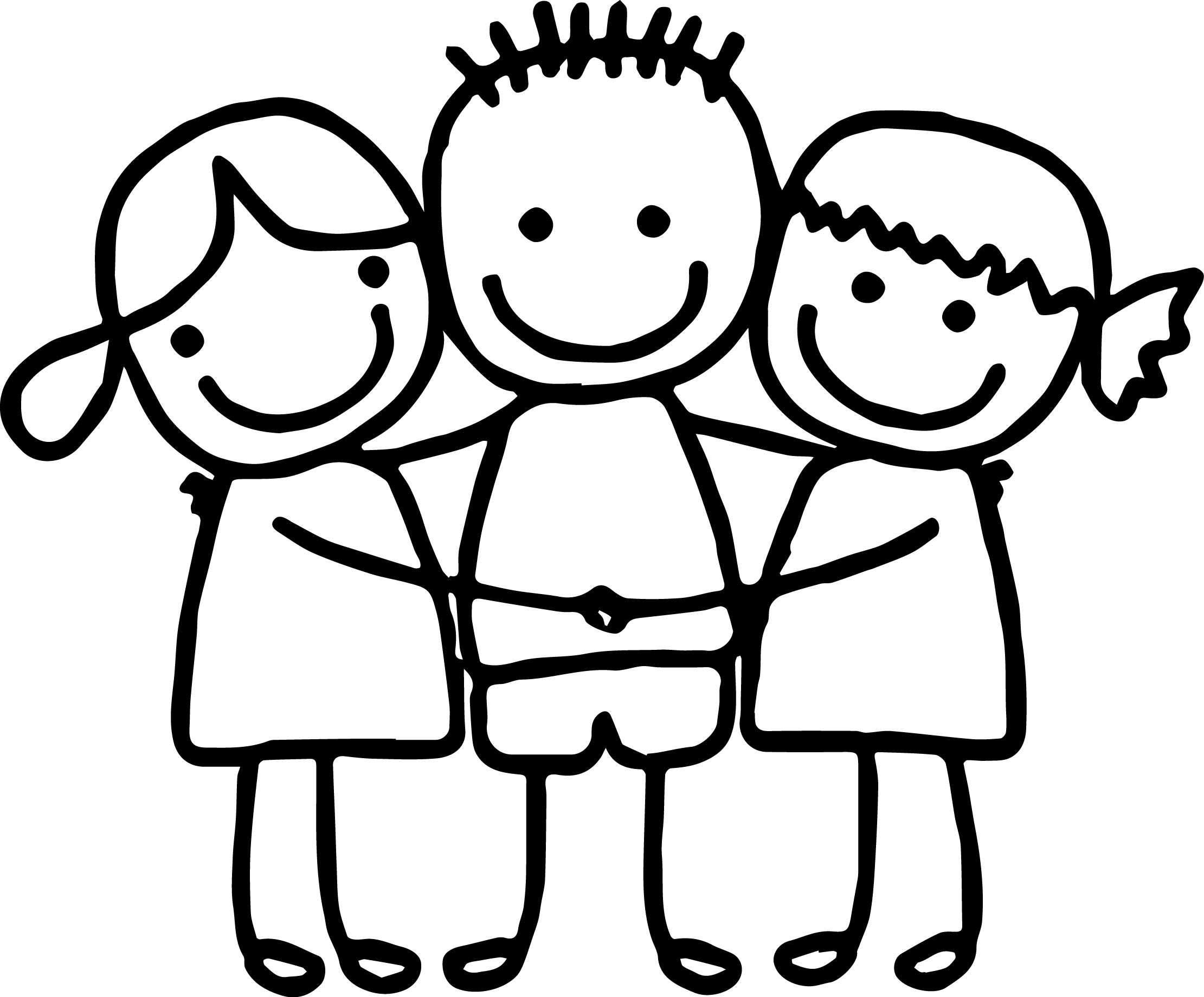 2221x1841 Profitable Coloring Pages About Friendship Best Friend To Print
