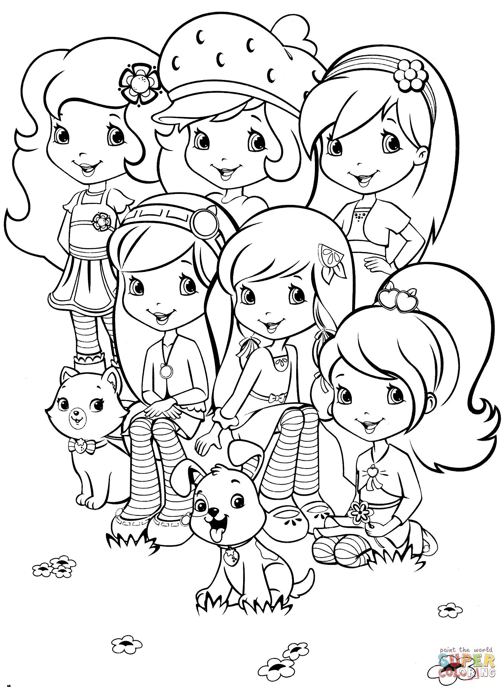 1610x2200 Wonderful Coloring Pages Showing Friendship Best Friends Forever