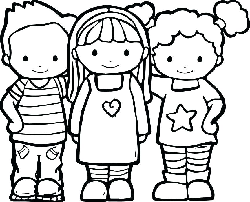 863x697 Best Friend Quotes Coloring Pages Friends Color And To Print Best