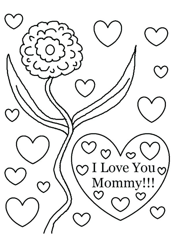 595x842 Mom Coloring Pages Best Mom Coloring Page Momjunction Coloring