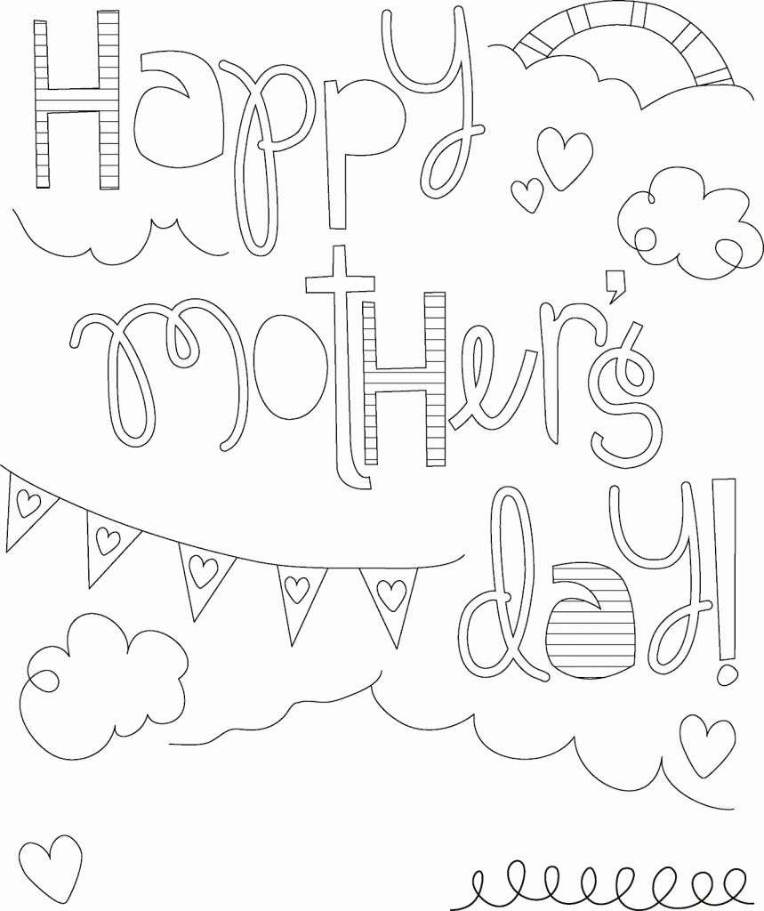 859x1024 Mom Coloring Pages Coloring Page