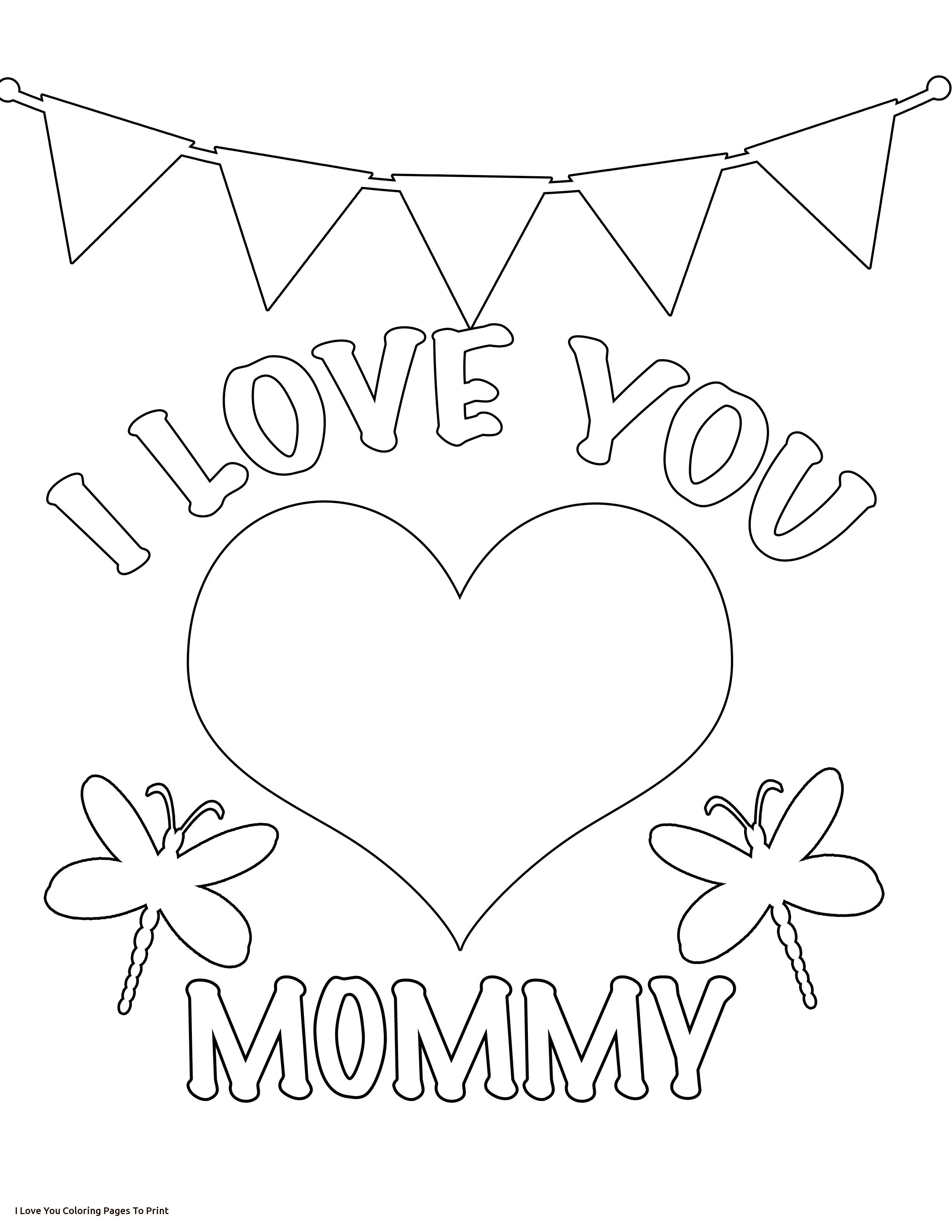 2550x3300 The Best Love You Mommy Coloring Page U Kids Valentines Day