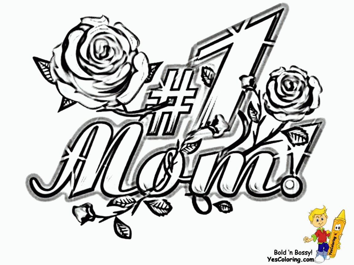 1152x864 Best Mom Coloring Pages Printable Free Coloring Sheets