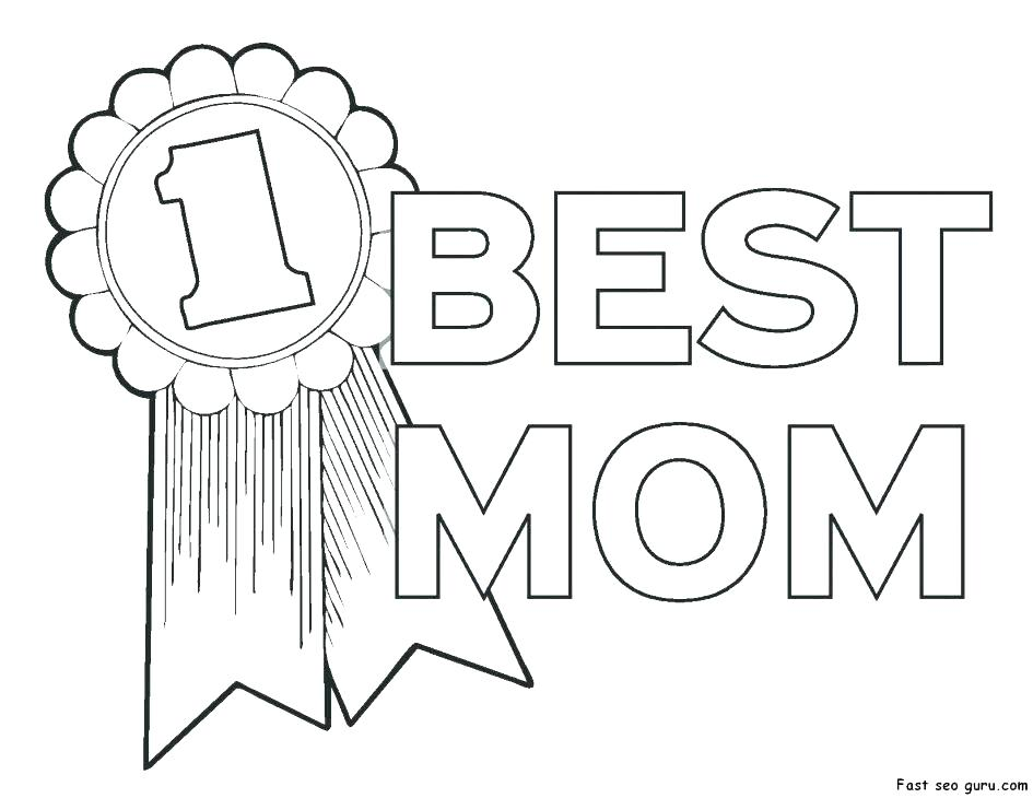 945x730 Color Pages For Mom Birthday Coloring Pages For Mom Color Pages
