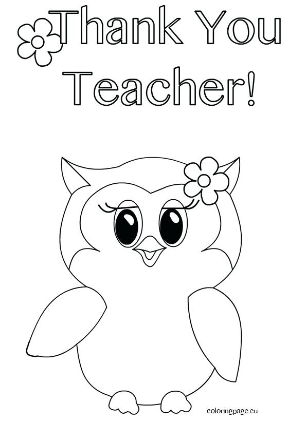 595x822 Best Teacher Ever Coloring Pages Appreciation Images On Superhero