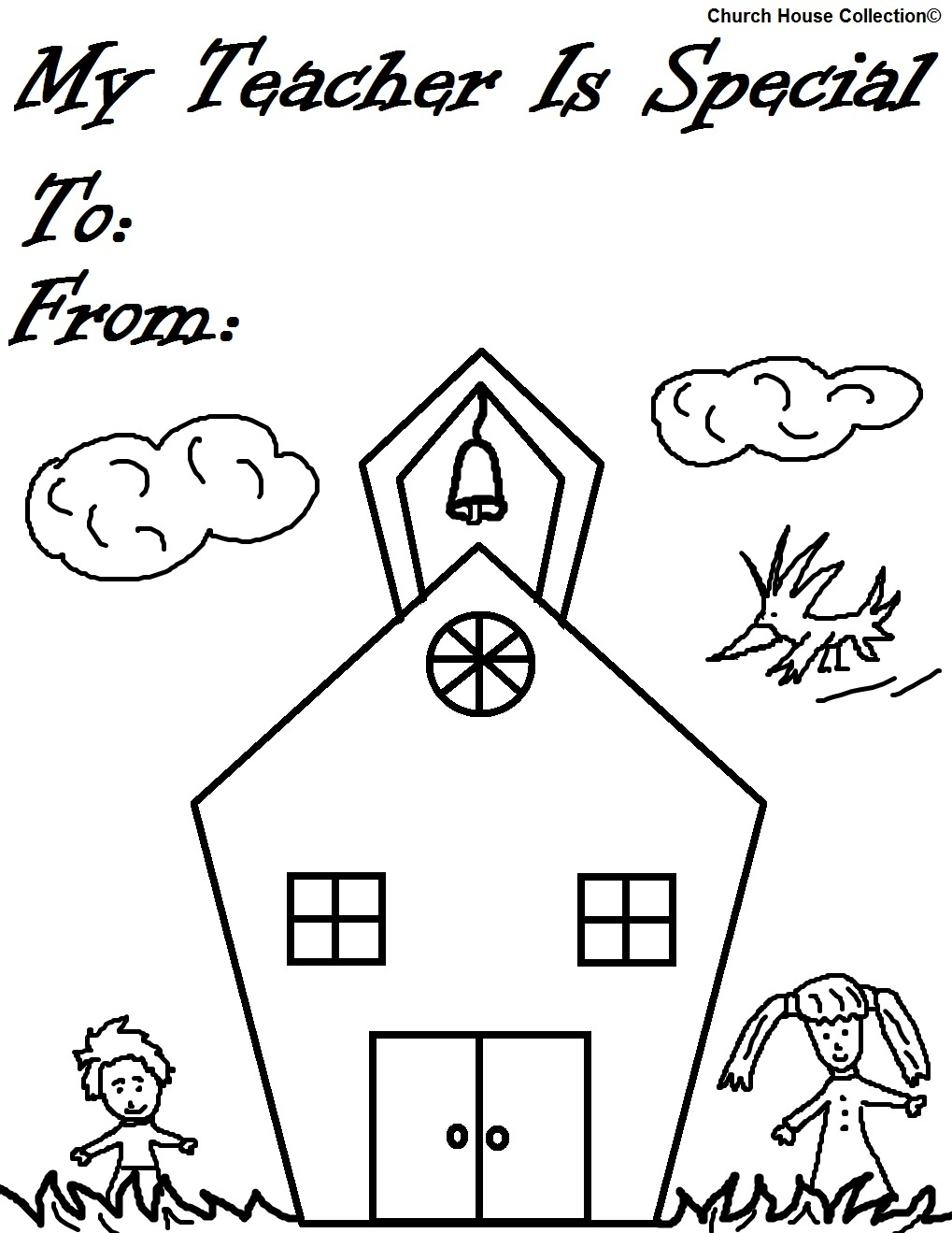 1019x1319 Cartoon Coloring Pages That Say Best Teacher Ever Collection