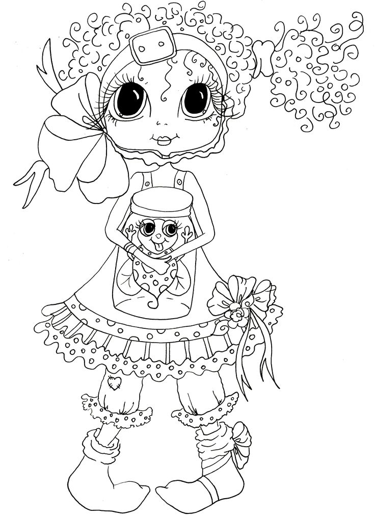 Besties Coloring Pages