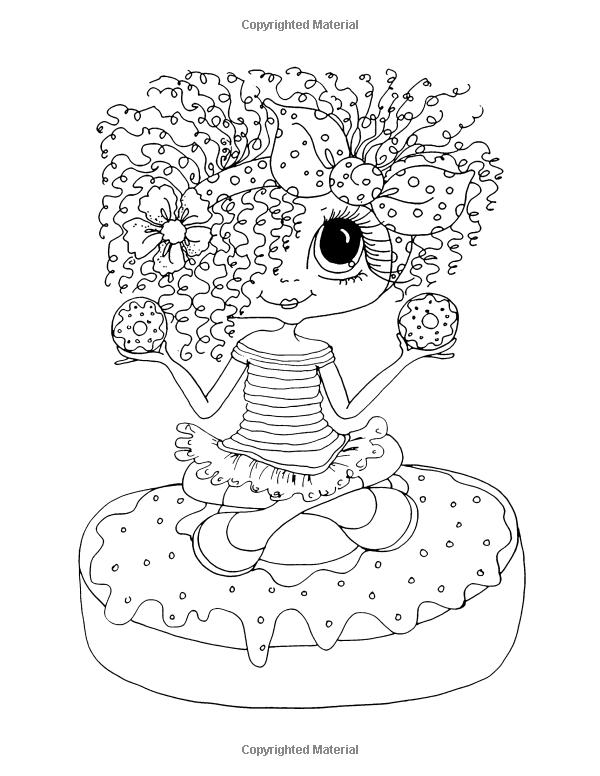 600x776 Sweet Treats Coloring Pages Sherri Baldy My Besties Sweet Treats