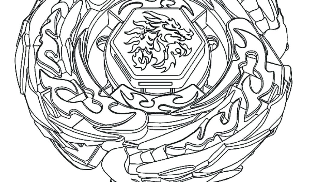 Beyblade Coloring Pages At Getdrawings Free Download