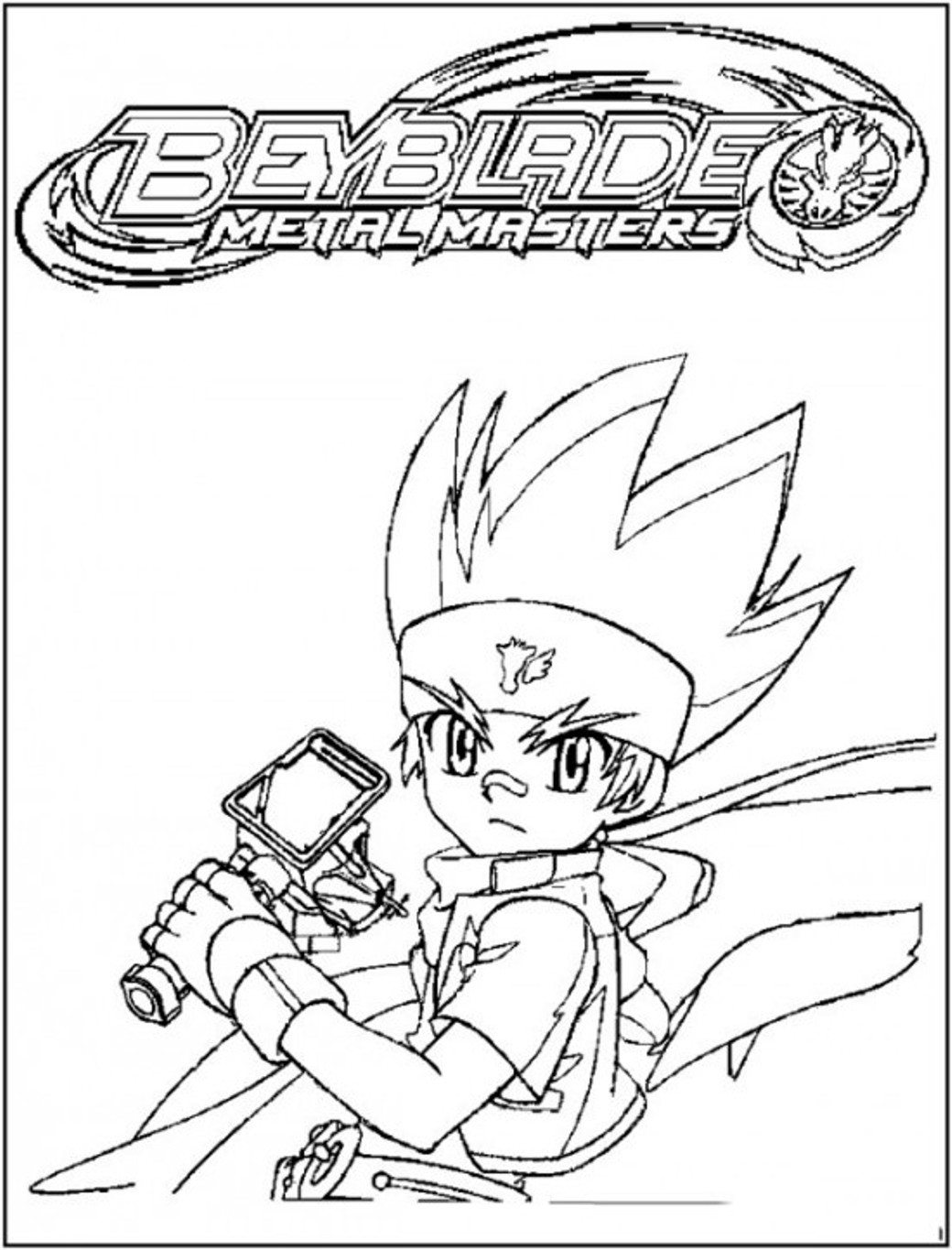 1040x1365 Beyblade Team Coloring Page For Kids Manga Anime Pages Free