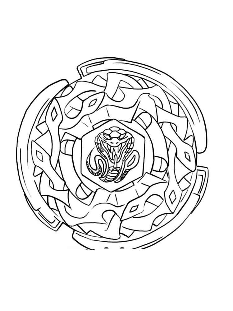 the best free beyblade coloring page images download from