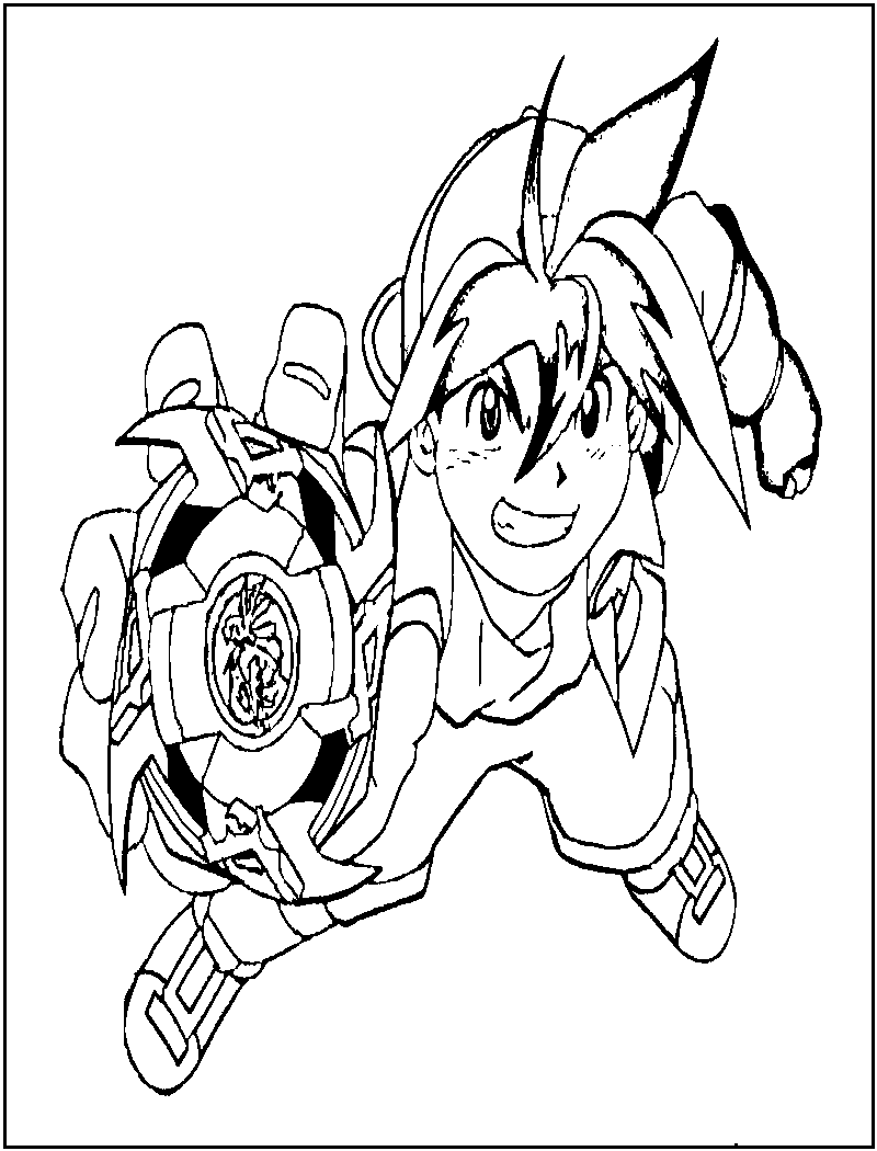 800x1050 Free Printable Beyblade Coloring Pages For Kids