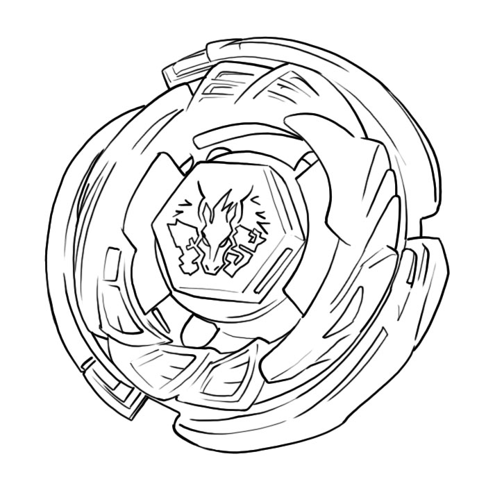 700x700 Pegasus Beyblade Coloring Pages
