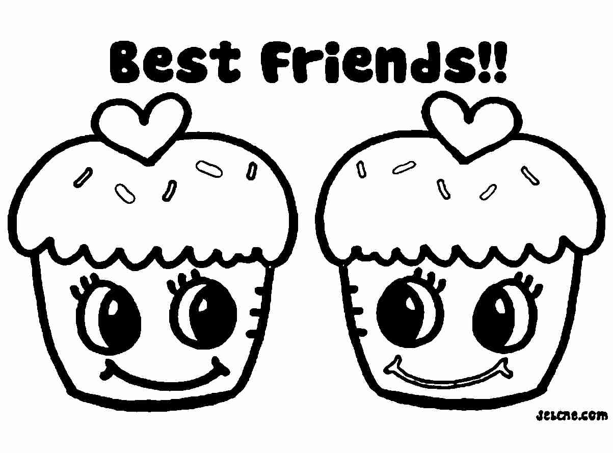 Printable Coloring Pages For Girls Bff Www Tollebild Com