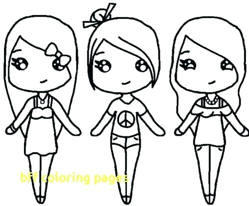 500x413 Bff Coloring Pages Coloring Pages Best Friend Coloring Pages