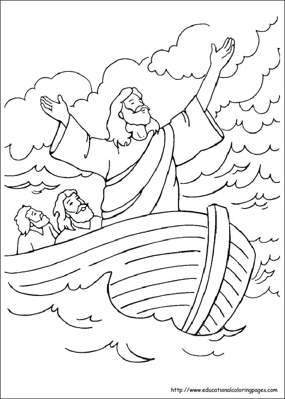 567x794 Christian Coloring Pages For Preschoolers Printable Christian