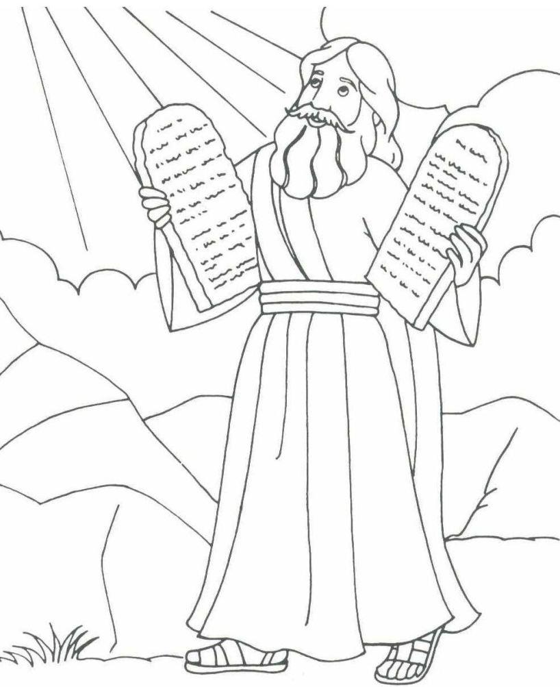 818x1003 Guaranteed Bible Character Coloring Pages Prin
