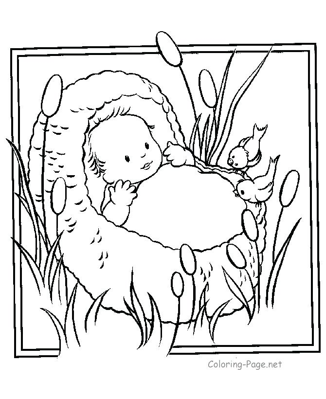670x820 Bible Character Coloring Pages Ideas About Baby On Crafts