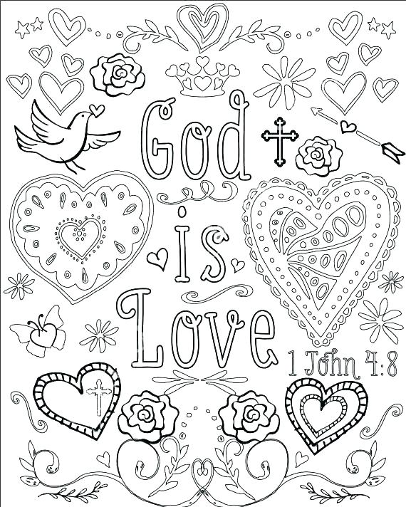 570x712 Bible Verse Coloring Pages Coloring Page Of The Bible Bible Verse