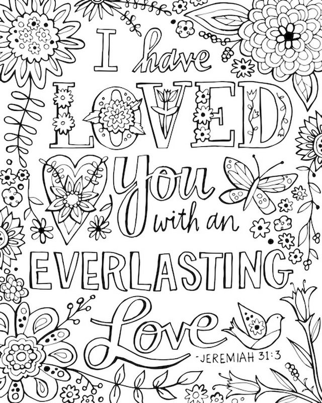 640x800 I Have Loved You With An Everlasting Love Bible Verse, Jeremiah