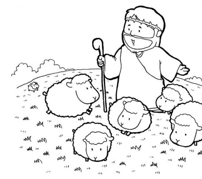 678x600 Free Sunday School Coloring Pages For Preschoolers Free Coloring