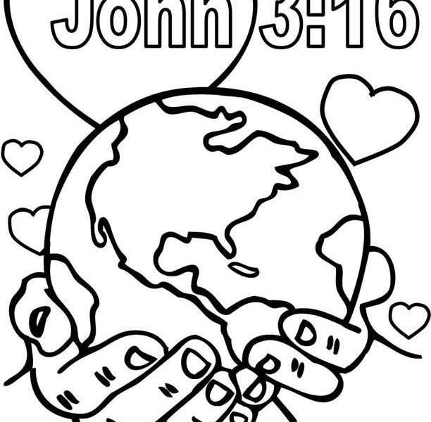 612x600 Sunday School Coloring Pages Toddlers Best Bible Coloring Pages