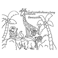 230x230 Top Free Printable Bible Verse Coloring Pages Online