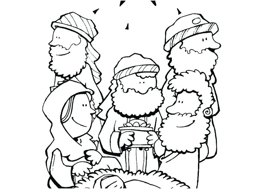 827x609 Christian Coloring Pages For Kids