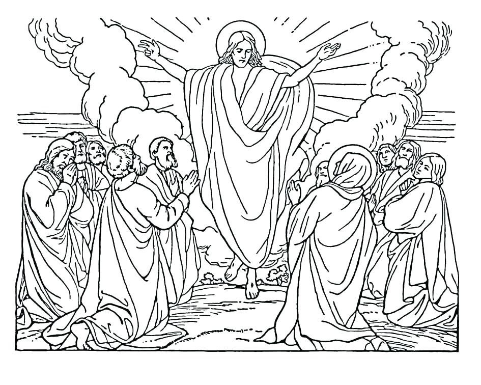 945x756 Printable Bible Story Coloring Pages Free Printable Bible Story