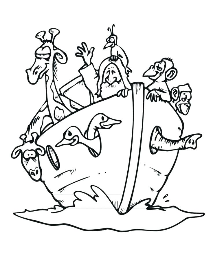 736x952 Bible Story Noah And The Ark Coloring Pages