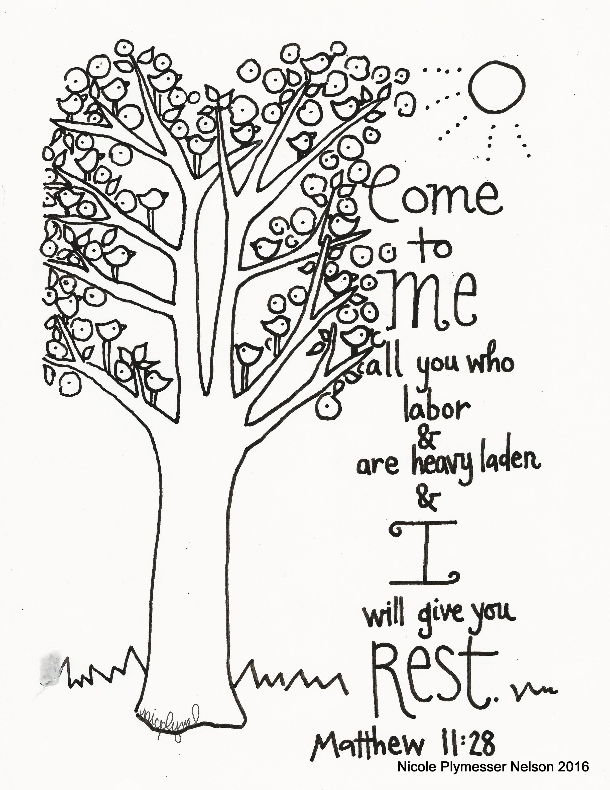 Bible Study Coloring Pages at GetDrawings.com | Free for personal ...