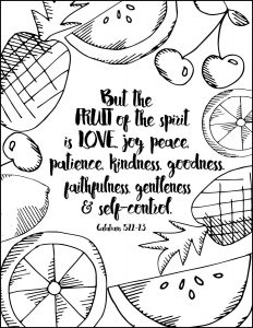 232x300 Summer Inspired Free Coloring Pages With Bible Verses