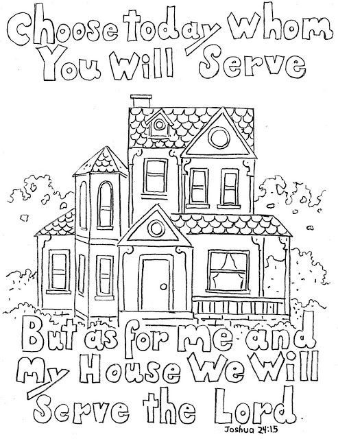 Bible Verse Coloring Pages For Kids