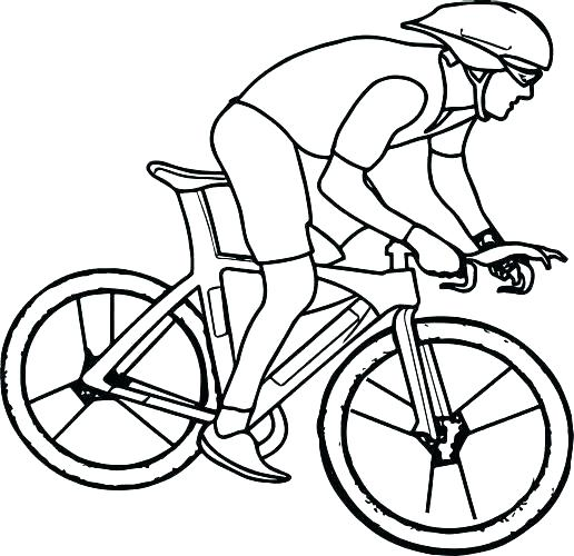 516x500 Bike Coloring Pages Bicycle Coloring Page Bicycle Coloring Pages