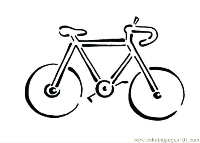 650x464 Bicycle Coloring Page Free Bikes Coloring Pages Bicycle Coloring