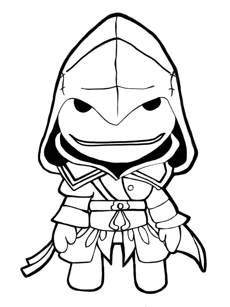 774x1032 Largest Little Big Planet Coloring Pages Sol
