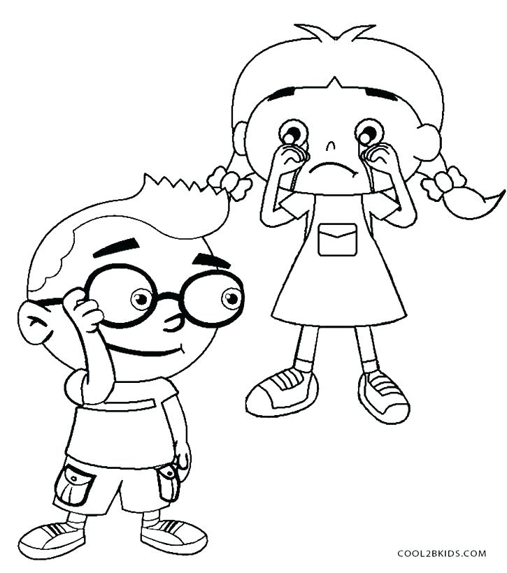 725x820 Little Einstein Coloring Pages Little Coloring Pages Little