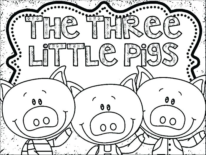 700x525 Three Little Pigs Coloring Pages Little Pigs Coloring Pages Epic
