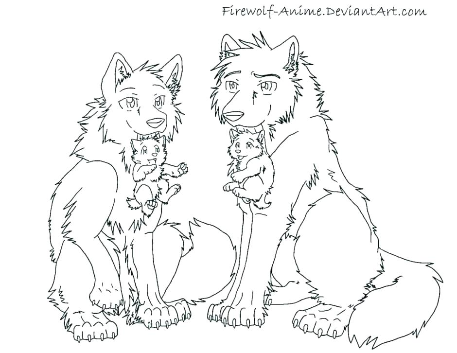 940x726 Coloring Page Of Big Bad Wolf