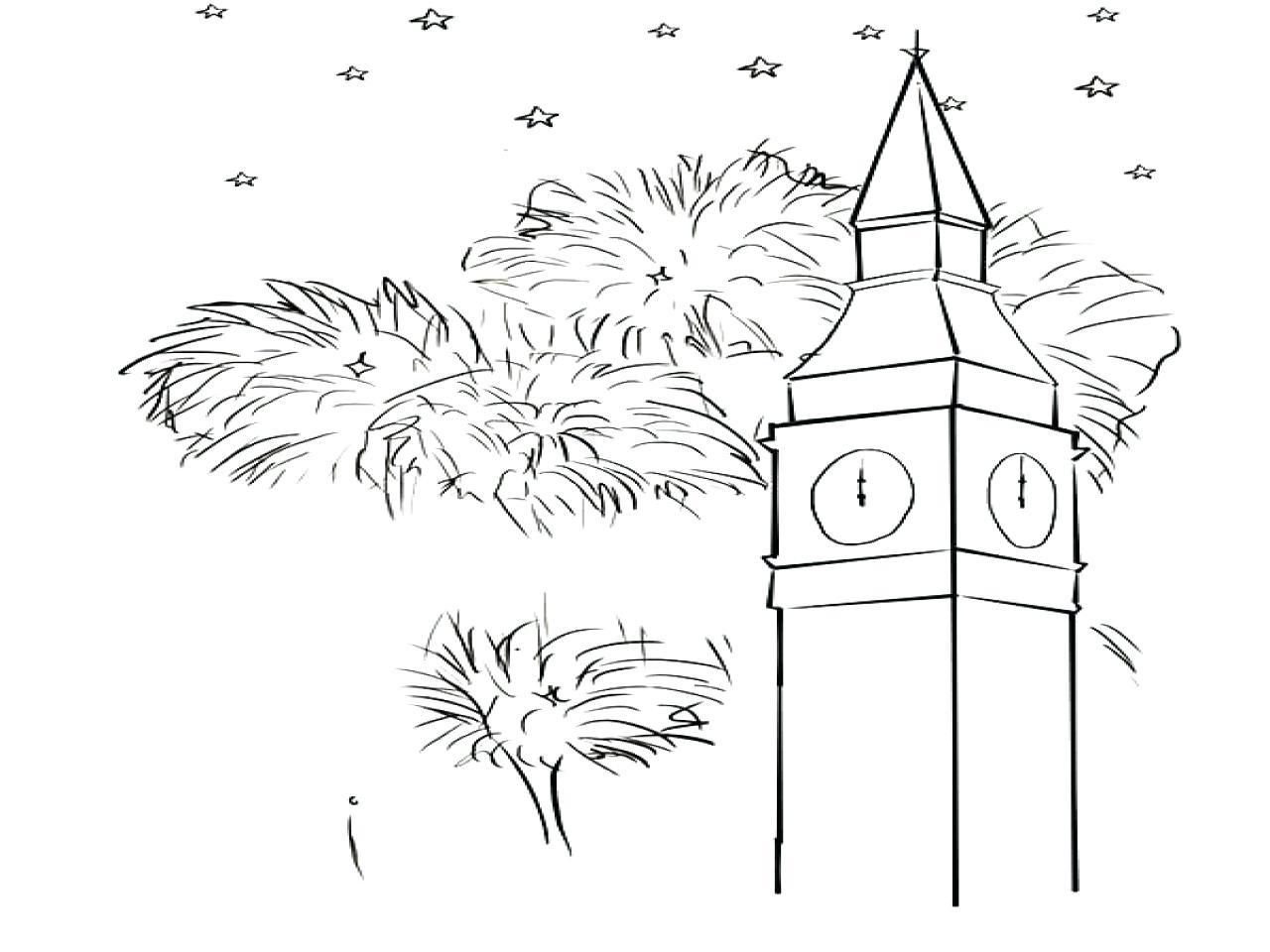 1280x960 Big Ben Clock Tower Architechture Coloring Pages Thanksgiving Food