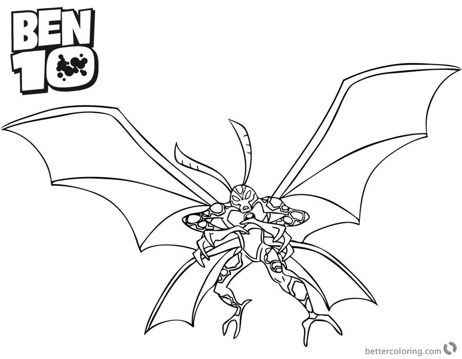 900x700 Ben Coloring Pages Big Chill