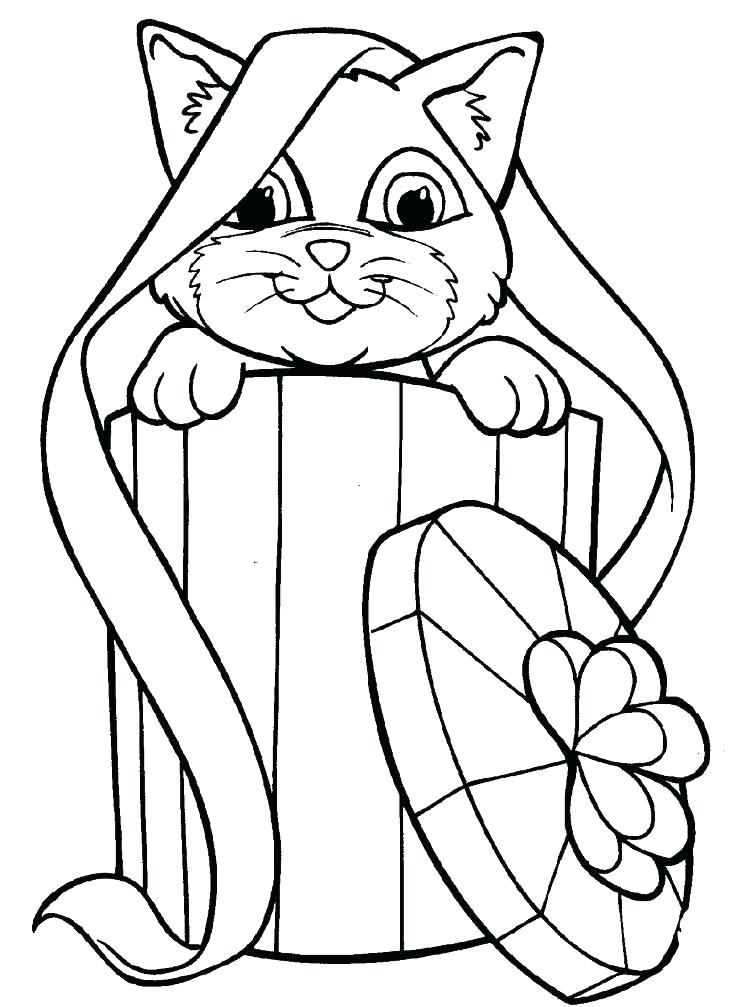 736x1007 Coloring Page Of A Cat Big Cat Coloring Pages Cat Coloring Pages