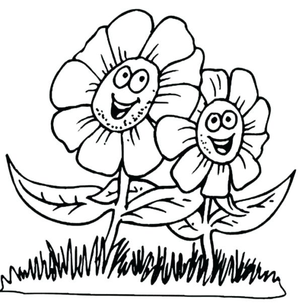 600x607 Big Girl Coloring Pages Big Flower Coloring Pages Big Eye Girl