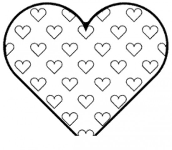 Big Heart Coloring Pages At Getdrawings Free Download
