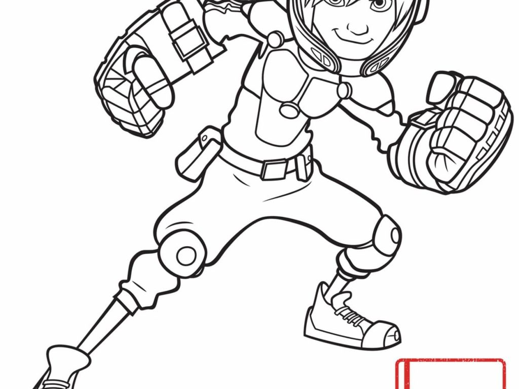 1024x768 Stunning Decoration Big Hero Coloring Page Big Hero Coloring
