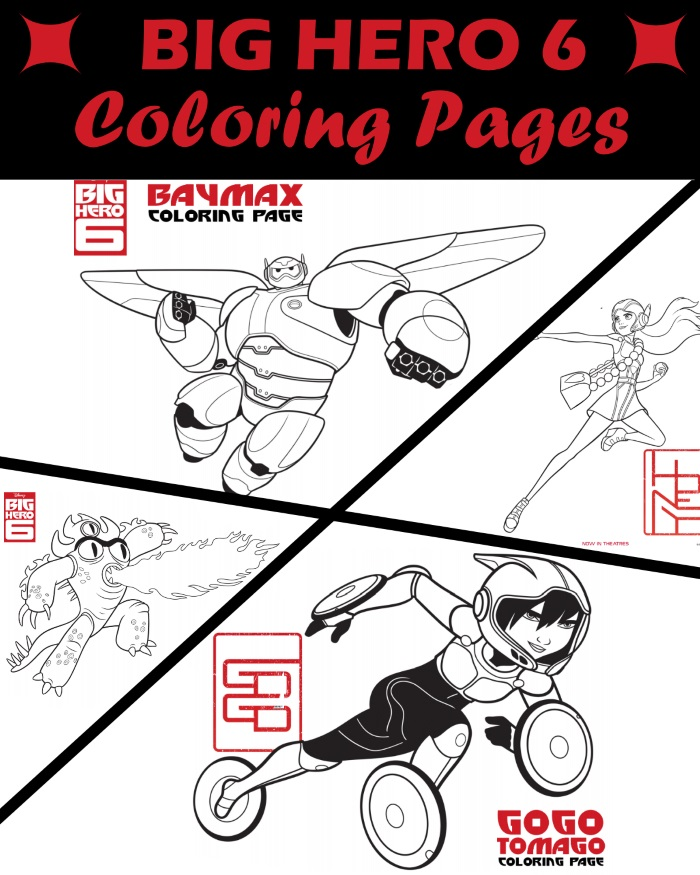 700x875 Big Hero Coloring Pages