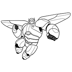 230x230 Top Big Hero Coloring Pages