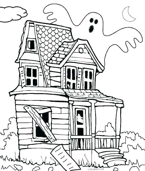556x652 Coloring Page House Houses Coloring Pages Free Coloring Pages Bird